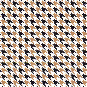 Bronze and Black Houndstooth Fabric | Wholesale Houndstooth Fabric