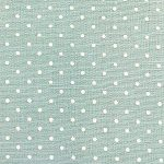 Mini White Dot on Robin's Egg Fabric