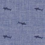 Shark Print Fabric: 100% Cotton | Shark Pattern Fabric