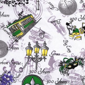 New Orleans Fabric