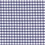 Windowpane Check Fabric - Navy