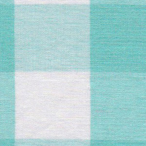 Pink Tan Gingham Fabric - 1″