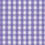 "Purple Check Fabric - 1/8"" Width 
