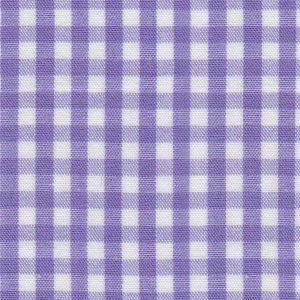 "Purple Check Fabric - 1/8"" Width   Wholesale Gingham Fabric"