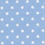 Blue and White Polka Dot Fabric | Wholesale Dot Fabric - 100% Cotton