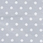 Grey and White Polka Dot Fabric | Polka Dot Cotton Fabric