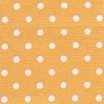 White and Gold Polka Dot Fabric | Wholesale Dot Fabric - 100% Cotton