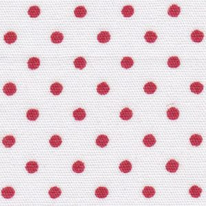 Red and White Polka Dot Fabric | Polka Dot Fabric Wholesale