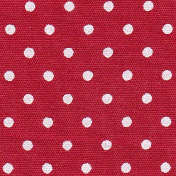 Megan RED /& WHITE Polka Dot Print Pattern Satin Fabric SKU 3005