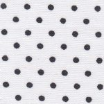 Black and White Polka Dot Fabric | Polka Dot Fabric Wholesale