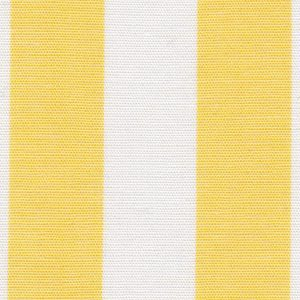 "Lemon Yellow Stripe Fabric - 5/8"" Stripe | Stripe Fabric Wholesale"