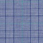 Navy and Kelly Green Plaid Fabric