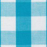 Turquoise Gingham Fabric