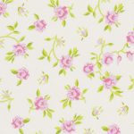 Pink and Green Floral Fabric: 100% Cotton | Floral Fabric Wholesale