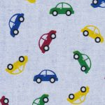 Car Print Fabric: 100% Cotton | Car Fabric