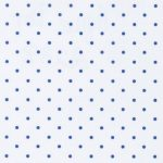 White and Royal Blue Polka Dot Fabric | Polka Dots Fabric Wholesale