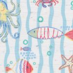 Sea Creature Print Fabric
