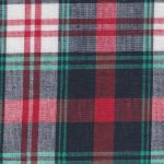 Red and Green Madras Plaid Fabric | Madras Fabric Wholesale