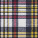 Madras Plaid Fabric - Red and Yellow | Madras Fabric Wholesale