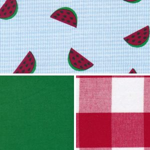 Watermelon Fabric Collection - 100% Cotton | Fruit Print Fabric