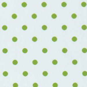 Apple Green Polka Dot Fabric | Wholesale Polka Dot Fabric