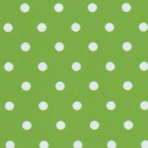 Apple Green Polka Dot Fabric | Wholesale Polka Dot Fabric