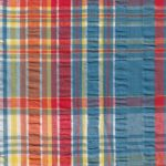 Plaid Seersucker Fabric