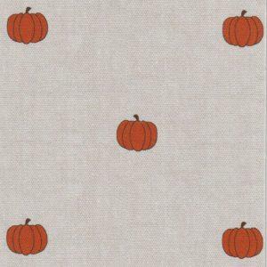 Pumpkin Print Fabric