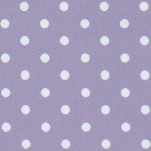 Lilac Polka Dot Fabric