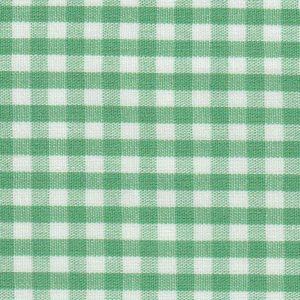 Emerald Green Check Fabric