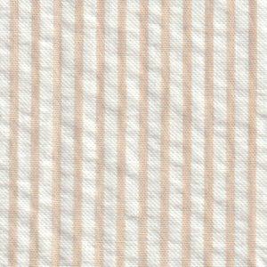 Tan Seersucker Fabric: British Tan   Seersucker Fabric Wholesale