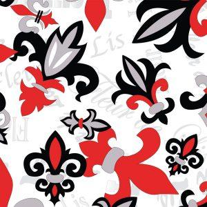 Fleur-de-lis Fabric