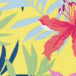 Floral Lawn Fabric: Pink, Green, Yellow and Blue | Lawn Fabric Wholesale