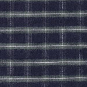 Navy and Green Plaid Flannel Fabric | Wholesale Flannel Fabric