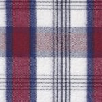 Red, Blue, and White Plaid Flannel Fabric | Wholesale Flannel Fabric