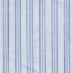 Blue Stripe Fabric - 100% Cotton | Wholesale Striped Fabric