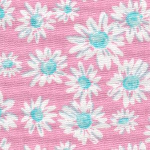 PInk and White Floral Fabric: 100% Cotton | Floral Fabric Wholesale