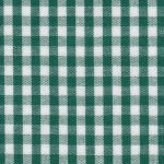 "Hunter Green Check Fabric - 1/8"" Width 