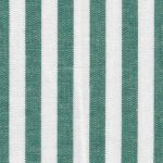 "Hunter Green Stripe Fabric - 1/4"" Width 