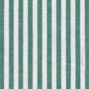 Hunter Green Striped Fabric
