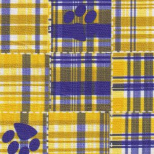 Tiger Paw Print Fabric | Paw Print Fabric Wholesale