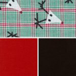Reindeer Print Fabric Collection