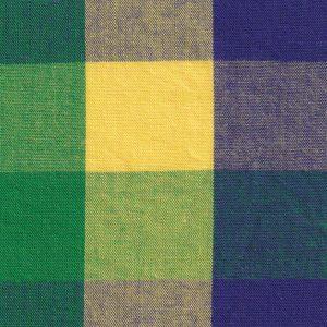 Mardi Gras Plaid Fabric - #T118 | Mardi Gras Fabric Wholesale