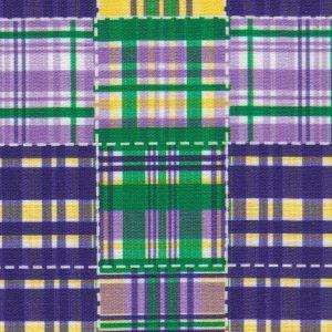 Mardi Gras Patchwork Fabric