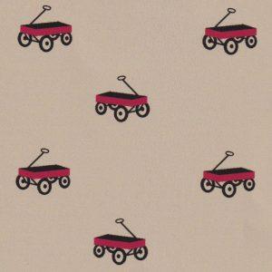 "Wagon Fabric: 100% Cotton & 60"" Width | Red Wagon Fabric"