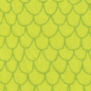 Scale Pattern Fabric - Lime Green | Fish Theme Fabric