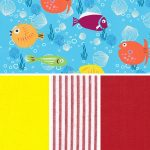 Fish Print Fabric Collection