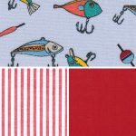 Fishing Lure Fabric Collection