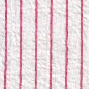 Red Seersucker Fabric