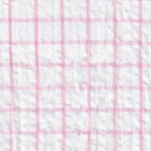 Pink Seersucker Fabric
